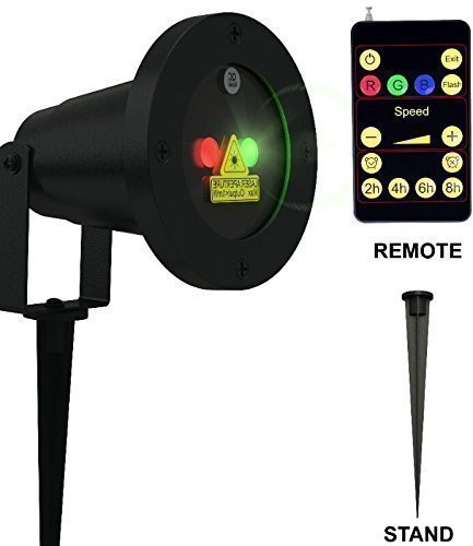 Laser Christmas Light Show LED Projector with Remote Control ...