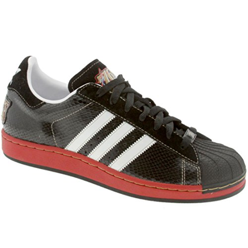 Adidas Menns Super En Nba-serien - Philadelphia 76ers (svart / R Hvit / Universitet Rød) -11,0