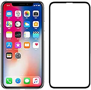 9D Full Cover Screen Film For iPhone X/iPhone XS 5.8 inch Tempered Glass Protective WITH BLACK Frame used Safety packing box