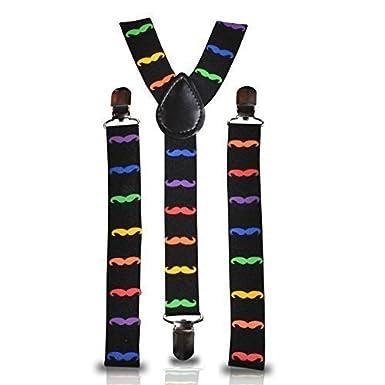 Trimming Shop zum anklammern Hosenträger für Herren und Damen - Unisex Strapshalter mit verstellbarem und elastisch Riemen - Modeaccessoire für Partys, Hochzeit, Freizeit, formelle Anlässe formelle Anlässe