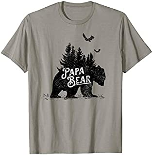 Best Gift Papa Bear  Grandfather  Papa Tee Need Funny TShirt / S - 5Xl
