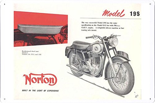 - The Unapproachable Norton Model 19S Motorcycles 7.8