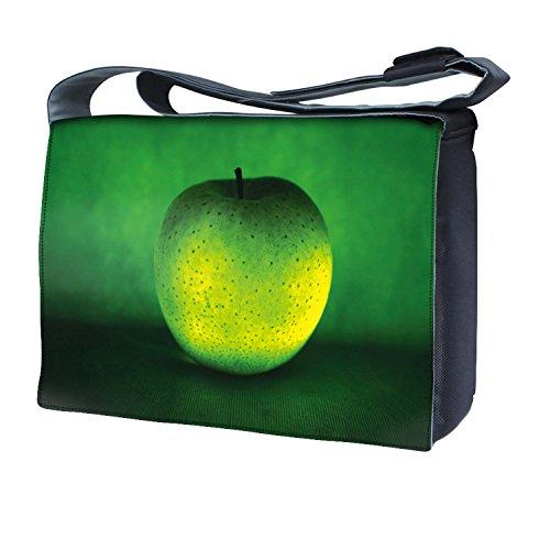 Ektor - Bolso al hombro para mujer verde manzana