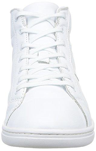 Aigle - Yarden Time Mid, Sneaker Uomo Bianco (Blanc (White Ltr))