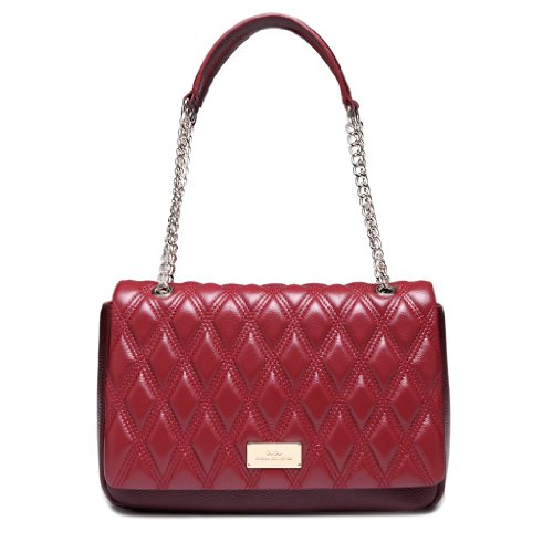 Iuha Diamond Lattice Top Grain Leather S - Maroon Leather Grain Shopping Results
