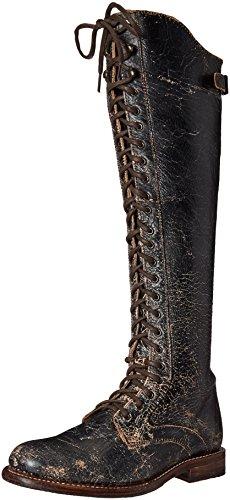 bed stu Women's Della Boot, Black Lux, 7.5 M US by Bed|Stu