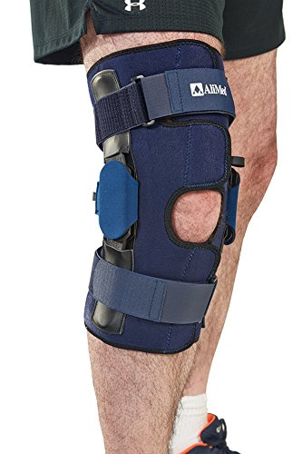 AliMed Knee Brace with Multilock Polyamide Hinge, Extra Large Alimed Brace