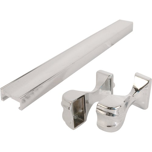 Shower Door Towel Bar & Bracket, 32-in Chrome ()