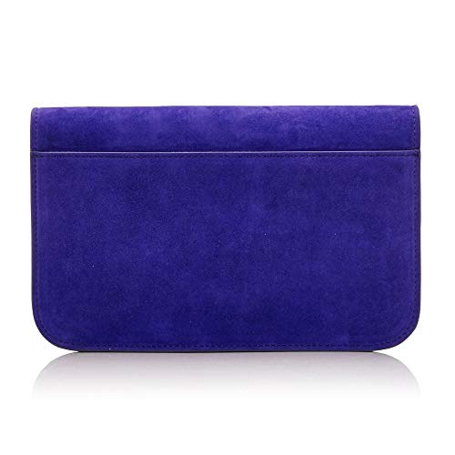 Purple Suede Selvinaclutch Moda Pelle In SwBHt4Z