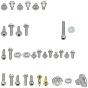 Full Plastics Fastener Kit Bolt Motorcycle Hardware HON-0007124