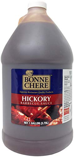Bonne Chere Superior Hickory Barbecue Sauce, 1 Gallon - 4 per case.