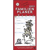 Simons Katze Familienplaner 2020 21x45cm