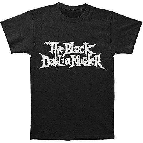 (Black Dahlia Murder Men's Classic Logo T-shirt Large)