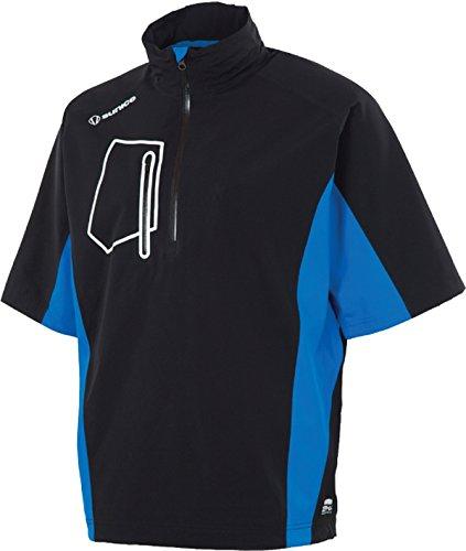 - PGA Men's Berlin Zephal Short Sleeve Pullover, Black/Collegiate, 3X-Large