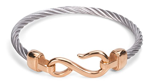 Women's Bangle Bracelet Rope Cable Band  - David Yurman Sterling Silver Cable Bracelet Shopping Results