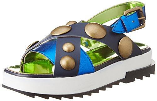 Diesel - Sandalias de vestir para mujer azul Blue Iris / Blue Diama