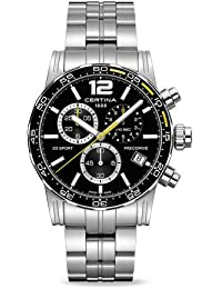 DS Sport Chronograph Black Dial Mens Stainless Steel Watch C027.417.11.057.03