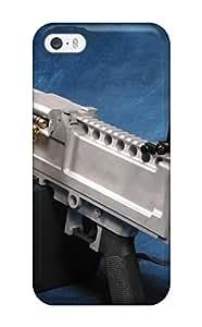 New Machine Gun Tpu Skin Case Compatible With Iphone 5/5s