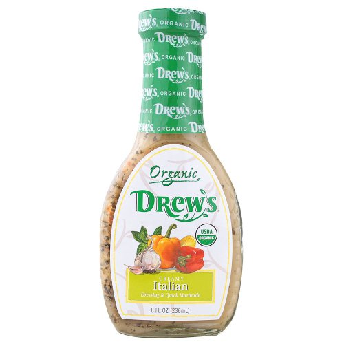 DREWS ALL NATURAL DRSSNG CRMY ITAL, 8 OZ (Drews Italian Dressing compare prices)