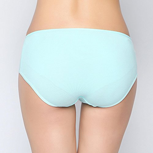quality Cotton Low Pregnancy Pregnant Mint Green Litthing Large Shorts waist Women's Size High Underwear wX4xISq