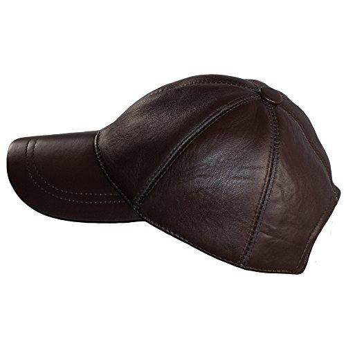 Hombre Dazoriginal Boina Cuero Sombrero Béisbol Gorras Planas Gorra Mujer Piel qBwBXaS