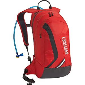 Camelbak Blowfish Hydration Pack (70-Ounce/1037/732 Cubic-Inch, Racing Red/Charcoal)