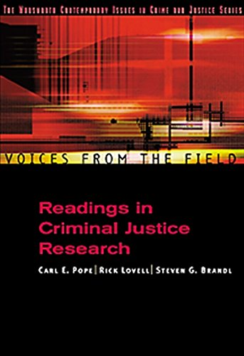 Voices from the Field: Readings in Criminal Justice Research (Criminal Justice Series)