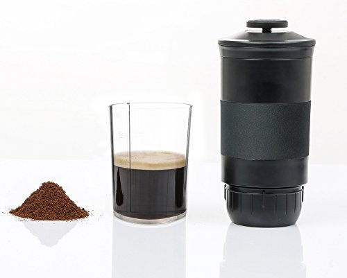 OMNICUP Portable Coffee Machine Hand Pressure Maker for Powder & Nespresso Coffee Capsules