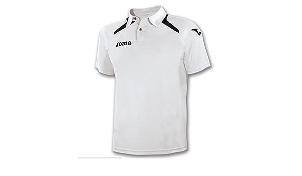 Joma - Polo Champion II BCO-Negro para Hombre: Amazon.es: Ropa y ...