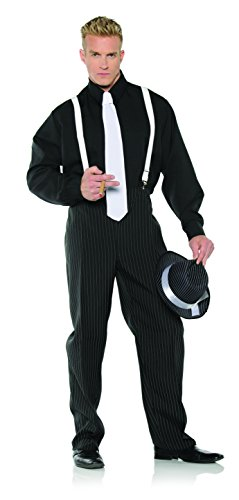 Underwraps Men's Mobster Costume - -