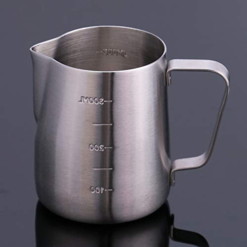 Used, Stainless Steel Beak with Scale Coffee Pot Milk Bubble for sale  Delivered anywhere in USA