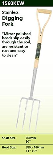 Spear & Jackson Kew Collection Stainless Digging Fork