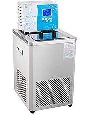 HayWHNKN Laboratory Chiller Circulator 6L Capacity -5℃ Low Temperature Cooling Liquid Circulator Pump Chiller Lab Recirculating Chiller Water Bath with 110V Converter for Laboratory