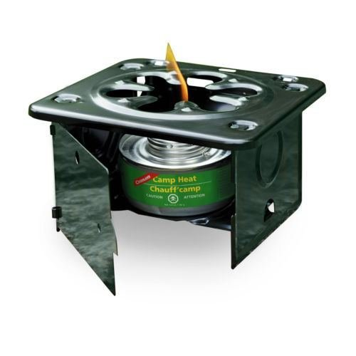 FOLDING EMERGENCY STOVE USE WITH STERNO TYPE FUEL CAMP HEAT STURDY LIGHT WARM #2