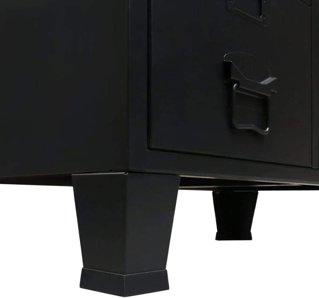 Furniture H Better Wardrobe Metal Industrial Style 26 4x13 8x42 1 Black With 2 Doors 2 Drawers 2 Hanging Bars Bedroom Armoire Closet Storage Organizer Home Kitchen Startsolar Com Au