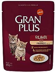 Ração Úmida GranPlus Para Gatos Filhotes Sachê - 85g