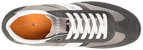 Tommy Hilfiger Denzel 1C - Zapatillas de deporte Hombre Grigio (Light Grey 051)
