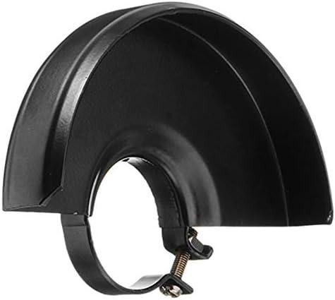 WOVELOT Noir Machine de D/écoupe Roue En M/étal de Base Garde de S/écurit/é Housse de Protection pour 125 Meuleuse DAngle Outil /électrique Accessoires Nouveau