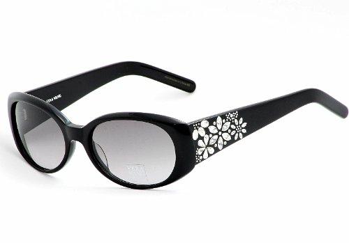 Vera Wang Perrine BK Black Plastic Sunglasses by Vera Wang