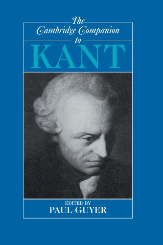 The Cambridge Companion to Kant (Cambridge Companions to Philosophy) (The Best Haircut Machine)