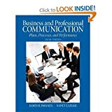 Business & Professional Communication: Plans, Processes, and Performance (5th Edition)