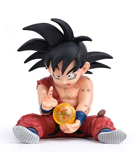 DBZ Actions Figures GK Goku Figure Statue Figurine Model Doll Collection Birthday Gifts PVC 4 Inch Super Saiyan