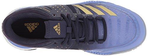 Adidas Womens Crazyflight Xw Scarpa Da Pallavolo Gesso Viola / Oro Metallizzato / Nobile Inchiostro