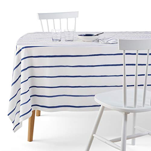 La Redoute Interieurs Glenans Printed Cotton Tablecloth for sale  Delivered anywhere in USA