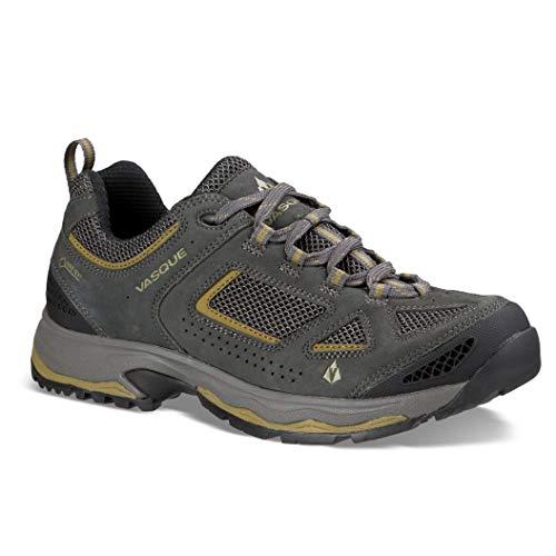 Vasque Mens Breeze III Low GTX Hiking Shoes Magnet / Lizard 10.5 M