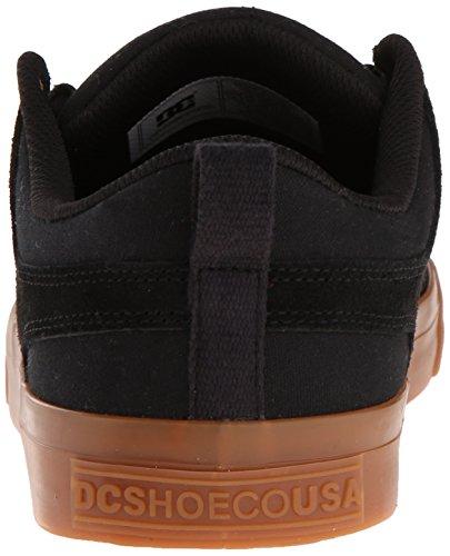 Dc Mens Lynx Lace-up Mode Sneaker Noir / Gomme
