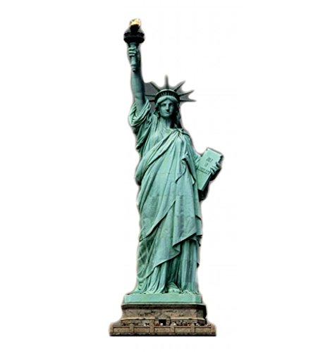 Statue Of Liberty   Advanced Graphics Life Size Cardboard Standup