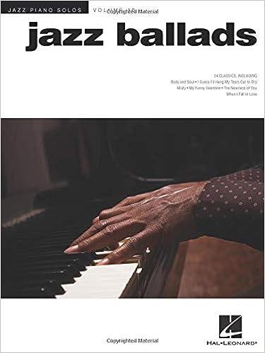 Libro PDF Gratis Jazz Piano Solos Volume 10: Jazz Ballads (jazz