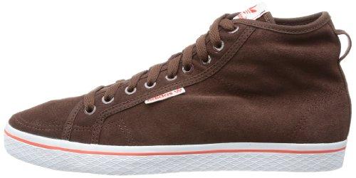Donna staub W Sneaker Marrone Collo A Adidas staubu Alto Originals Mid Honey braun w8wq67a
