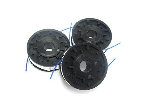 Spartacus 3x Spool /& Line 1.5mm Trimmer Line 2 x 5m Fits Ryno GT3010